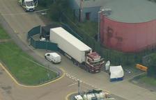 Trobats a Essex 39 cadàvers dins d'un camió procedent de Bèlgica