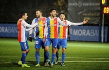 L'FC Andorra supera la prèvia i jugarà contra un equip de Primera Divisió