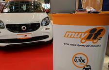 Muvif aposta per un servei de 'carsharing' de cotxes elèctrics