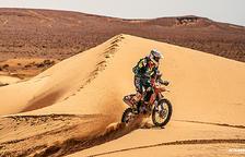 Margot Llobera diu adeu al somni de ser al Dakar 2020