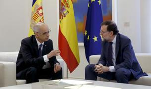 Toni Martí i Mariano Rajoy al palau de la Moncloa