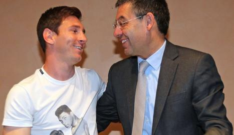 Bartomeu va sortir en defensa de Messi.