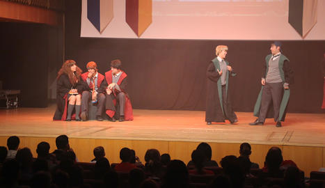 Centenars d'infants, al festival de Harry Potter