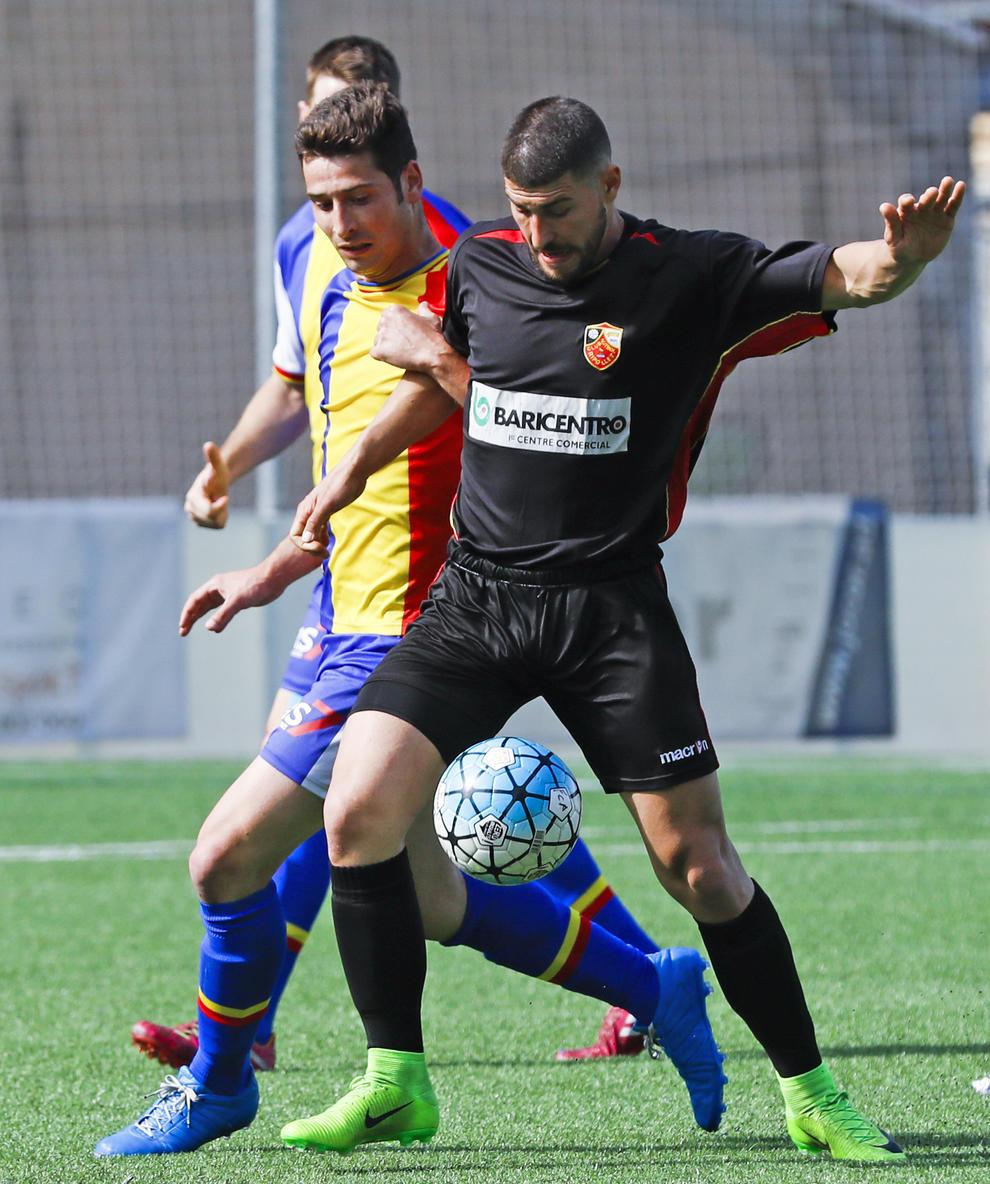 L'FC Andorra tomba el Ripollet en 30 minuts i és el líder momentani - Diari d'Andorra